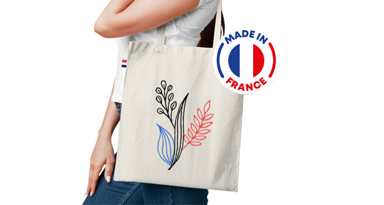 Tote bag Made in France personnalisé